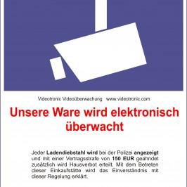Hinweispflicht des Planers bei Videoüberwachung